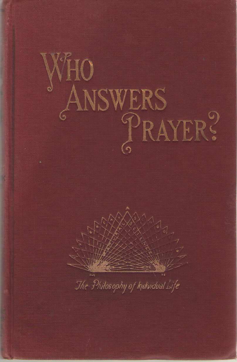 Who Answers?, Richardson, John E.