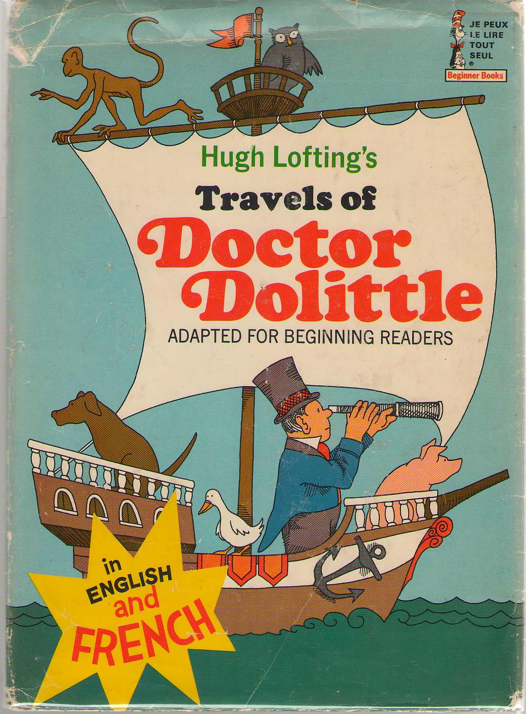 Travels of Doctor Dolittle In English and French, Perkins, Al & Hugh Lofting & Philip Wende