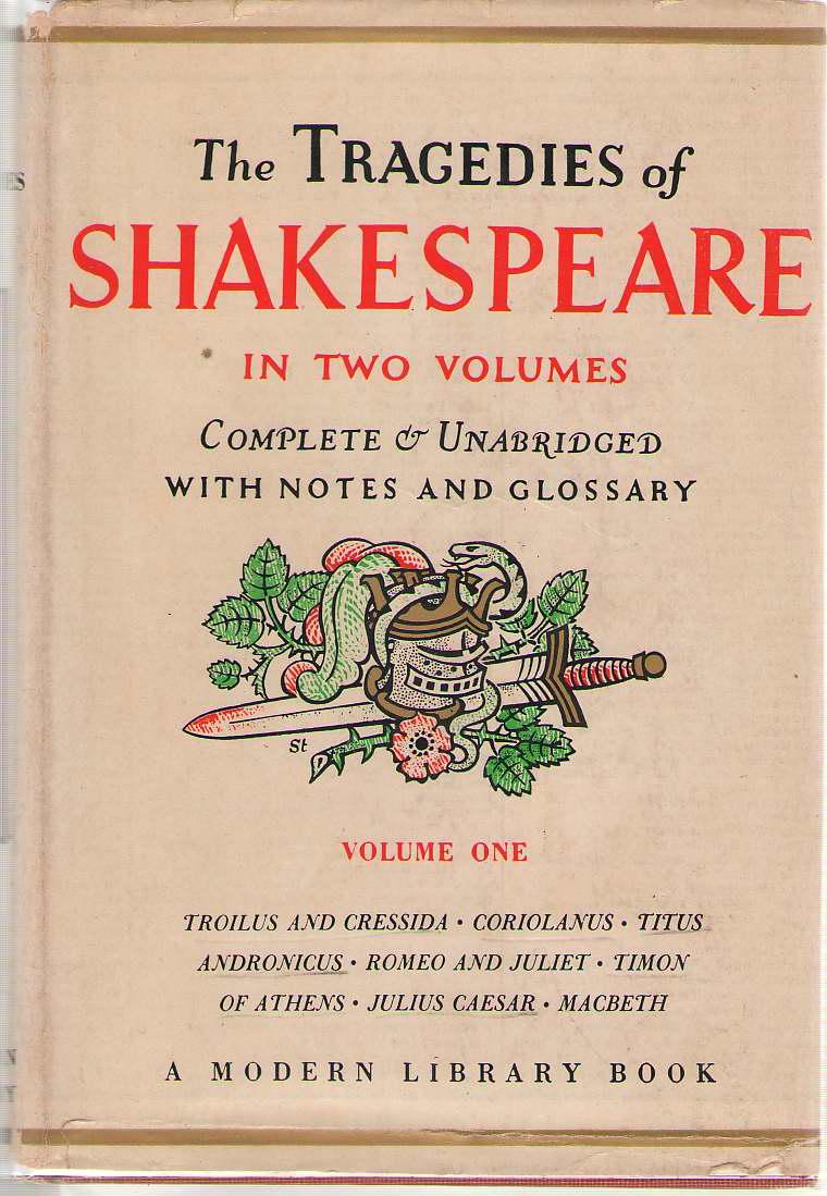 The Tragedies Of Shakespeare - Volume One, Shakespeare, William