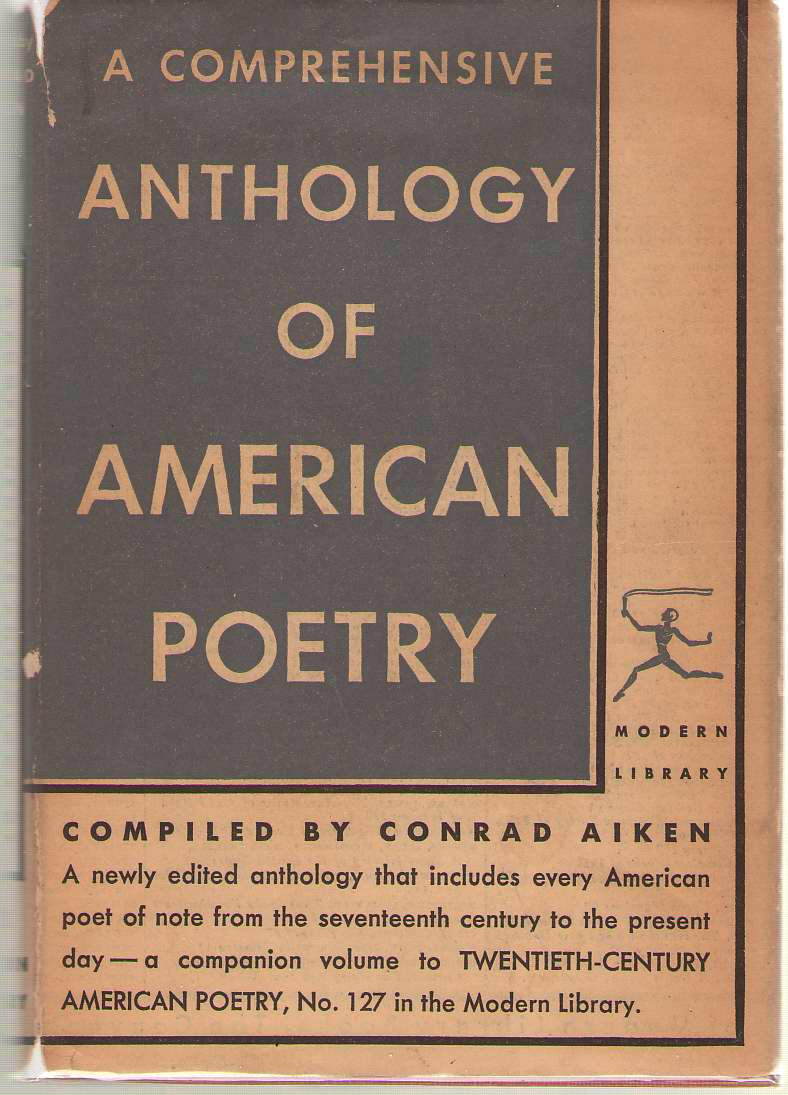 A Comprehensive Anthology Of American Poetry, Aiken, Conrad (editor)