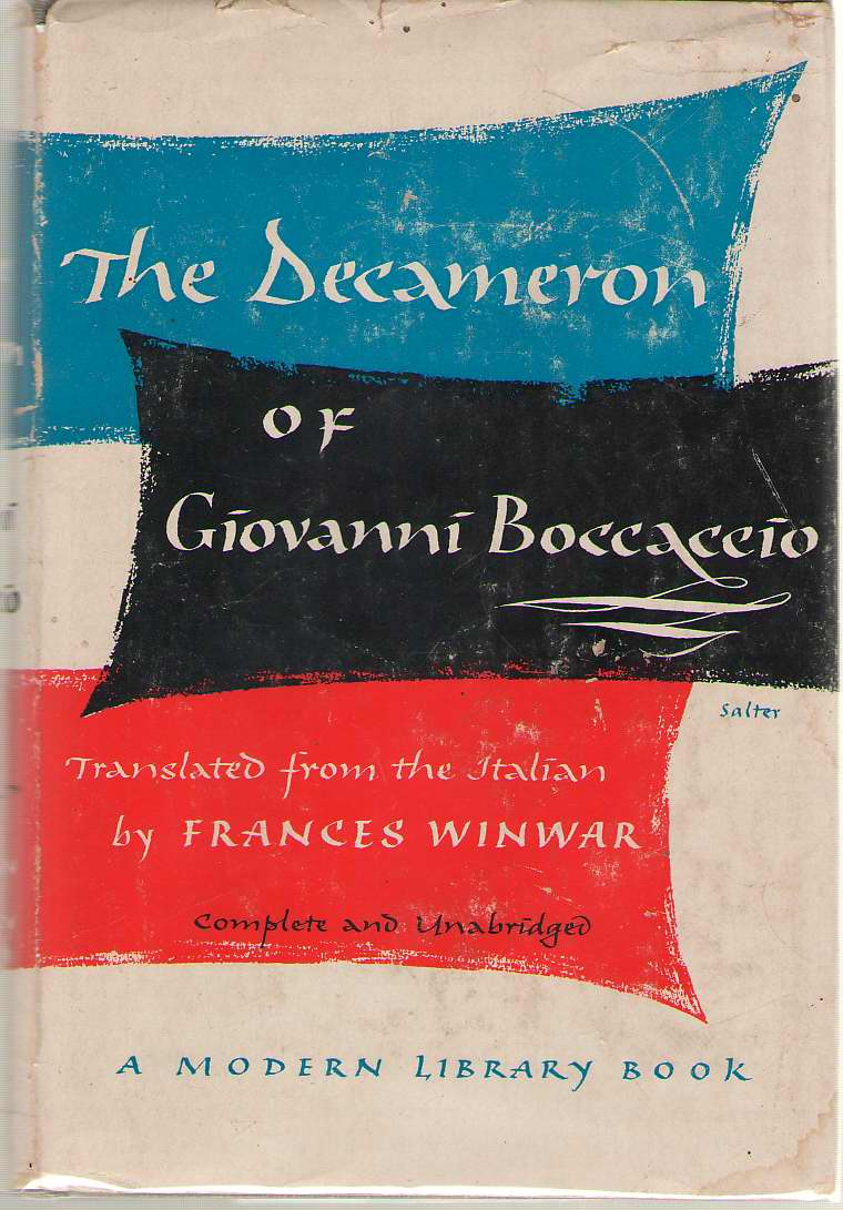 The Decameron, Boccaccio, Giovanni; Winwar, Frances (Introduction)