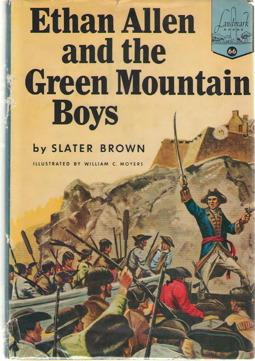 Ethan Allen And The Green Mountain Boys, Brown, Slater