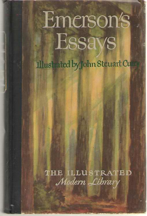 The Essays Of Ralph Waldo Emerson, Emerson, Ralph Waldo; Curry, John Steuart (Illustrator)
