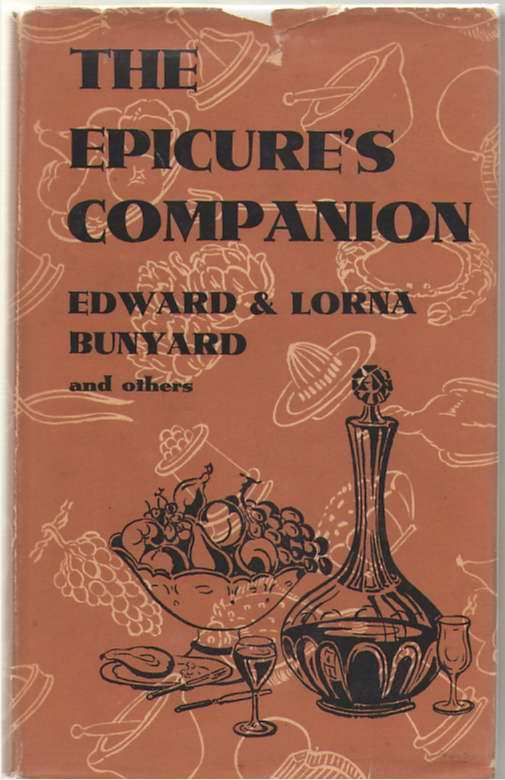 The Epicure's Companion, Bunyard, Edward and Lorna
