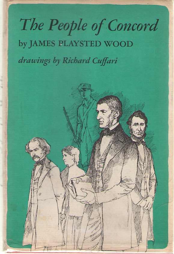 The People Of Concord, Wood, James Playsted; Cuffari, Richard (Illustrator)
