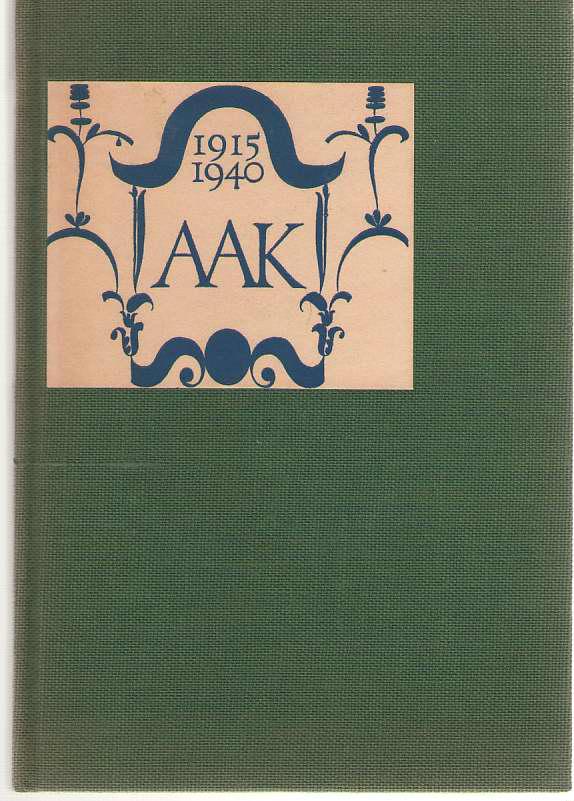 Alfred A. Knopf Quarter Century 1915-1940, Knopf, Alfred A.; Willa Cather, Carl Van Doren, H. L. Mencken, Thomas Mann