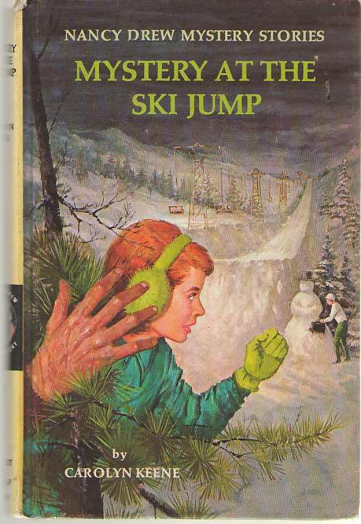 The Mystery At The Ski Jump, Keene, Carolyn
