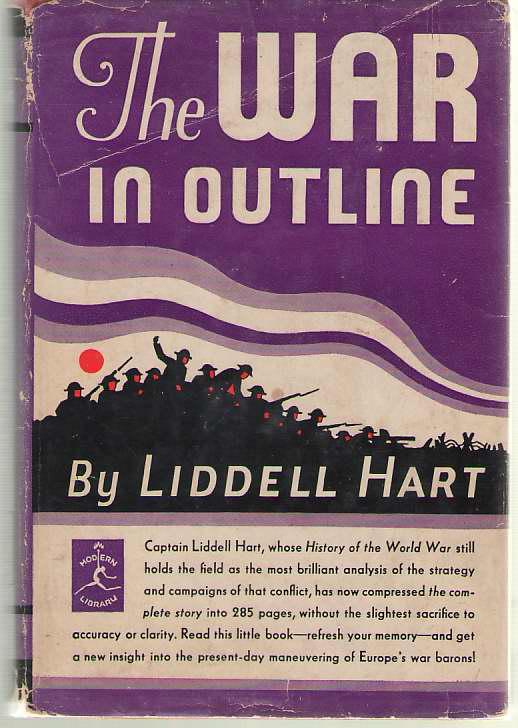 The War in Outline 1914-1918, Hart, Liddell
