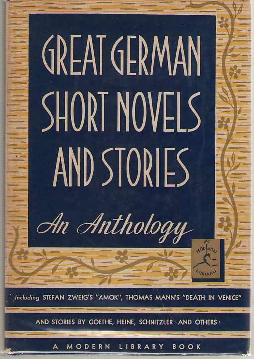 Great German Short Novels And Stories, Cerf, Bennett (editor)
