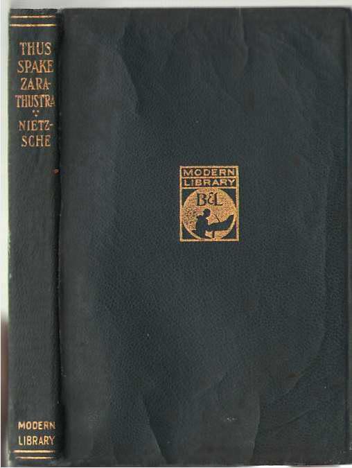 Thus Spake Zarathustra, Nietzsche, Friedrich