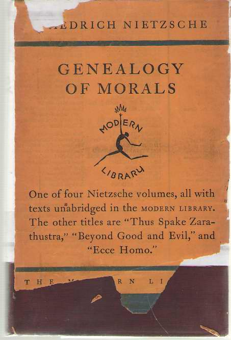 The Genealogy of Morals, Nietzsche, Friedrich