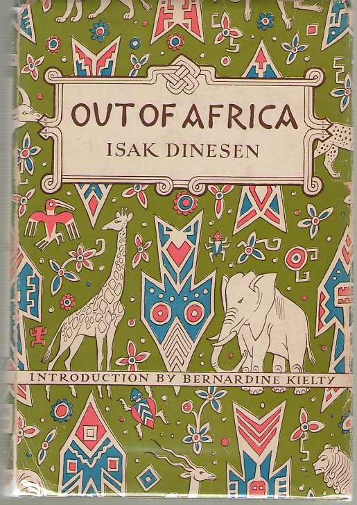Out Of Africa, Dinesen, Isak; Kielty, Bernardine (Introduction)