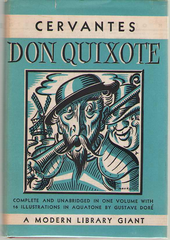 Don Quixote, De Cervantes, Miguel; Brickell, Hershell (Introduction) ; Dore, Gustave (Illustrator)