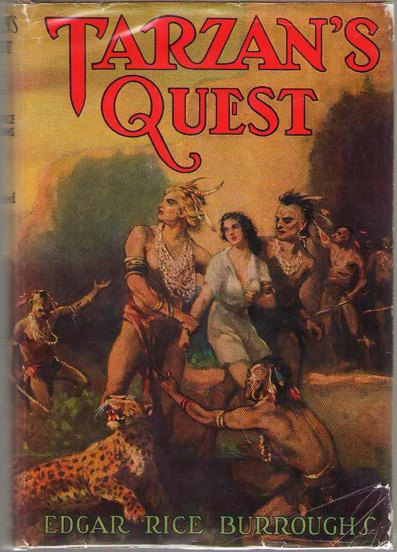 Tarzan's Quest, Burroughs, Edgar Rice