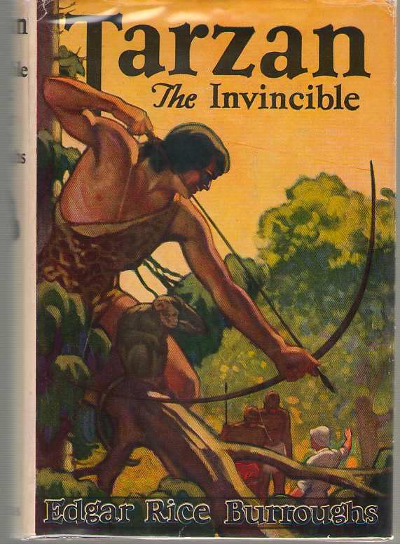 Tarzan The Invincible, Burroughs, Edgar Rice