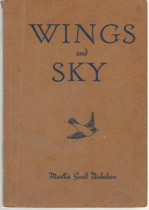 Wings And Sky, Nicholson, Martha Snell