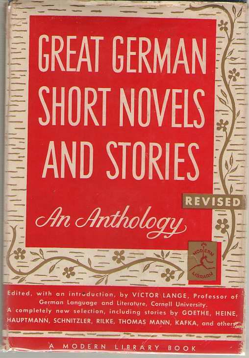Great German Short Novels And Stories, Lange, Victor (editor)