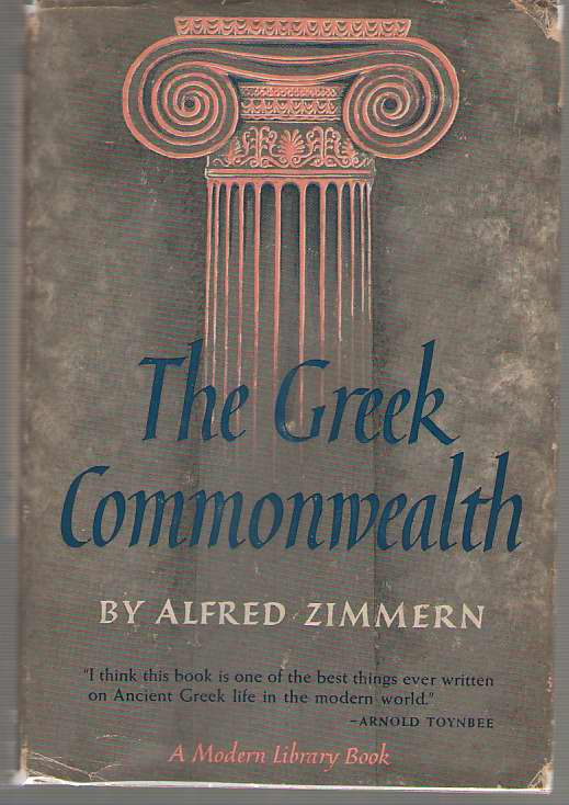 The Greek Commonwealth, Zimmern, Alfred