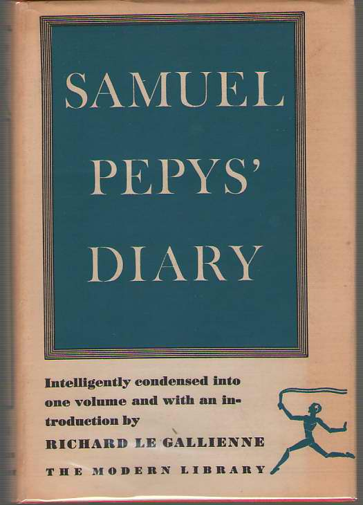 Passages From The Diary Of Samuel Pepys, Pepys, Samuel