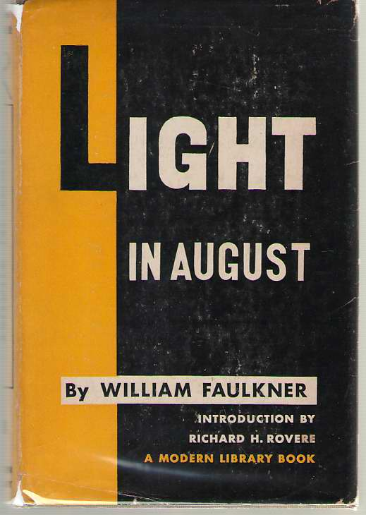 Light In August, Faulkner, William; Rovere, Richard H. (Introduction)