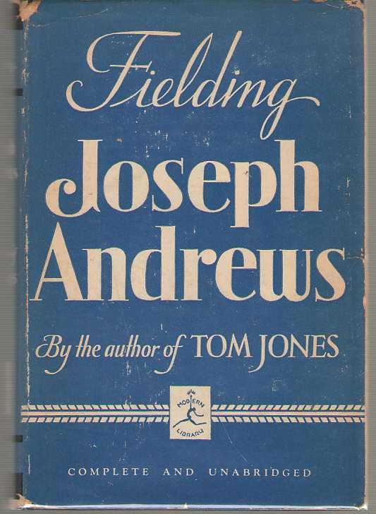 The History And Adventures Of Joseph Andrews, Fielding, Henry