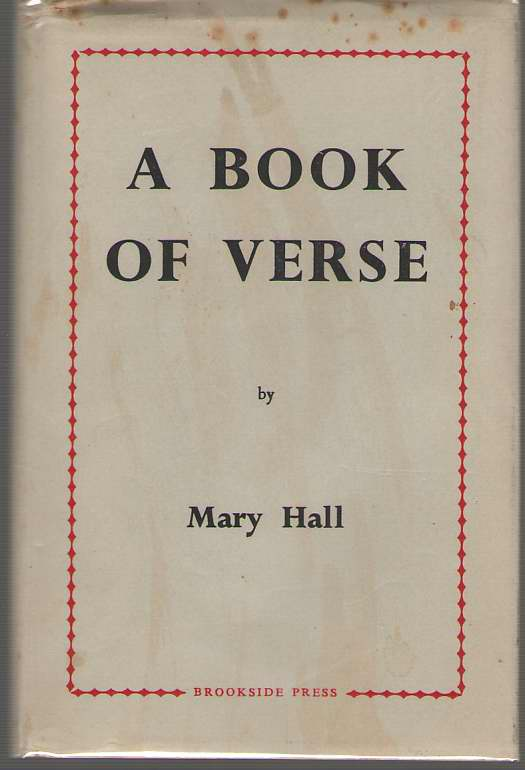 A Book Of Verse, Hall, Mary