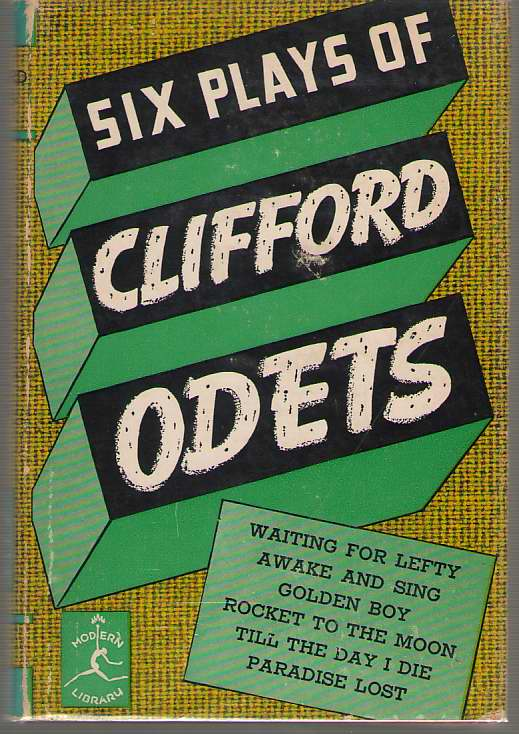 Six Plays of Clifford Odets, Odets, Clifford