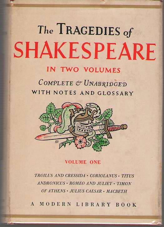 The Tragedies Of Shakespeare - Volume One, Shakespeare, William