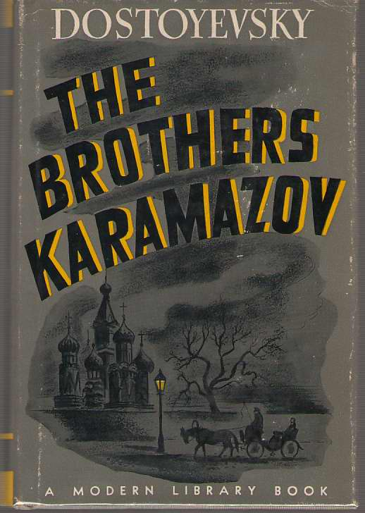 The Brothers Karamazov, Dostoyevsky, Fyodor; Slonim, Marc (Introduction)