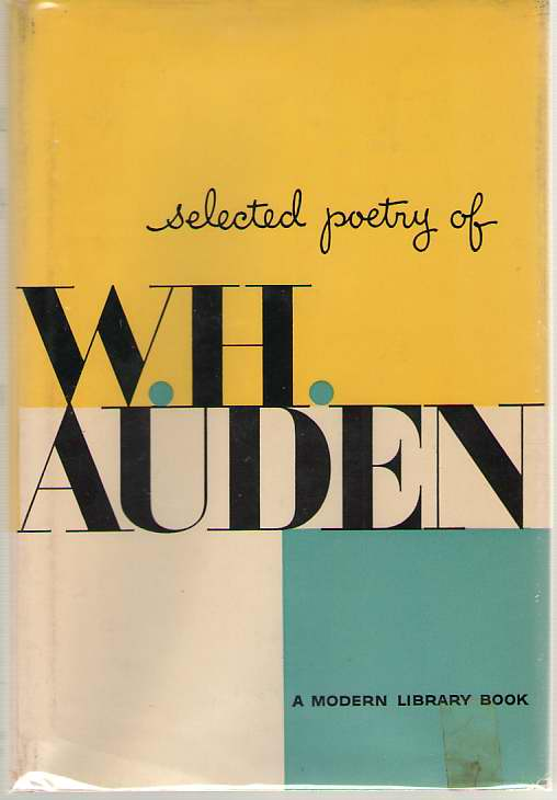 Selected Poetry Of W. H. Auden, Auden, W. H.