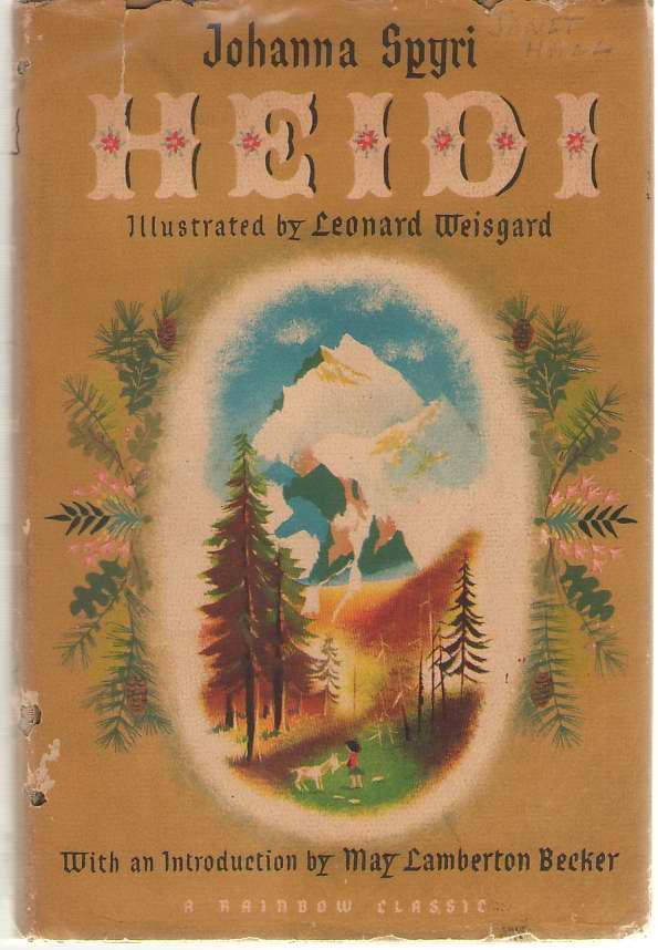 Heidi, Spyri, Johanna; Weisgard, Leonard (Illustrator)