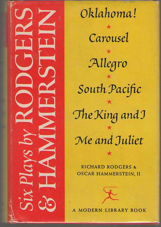Six Plays By Rodgers And Hammerstein