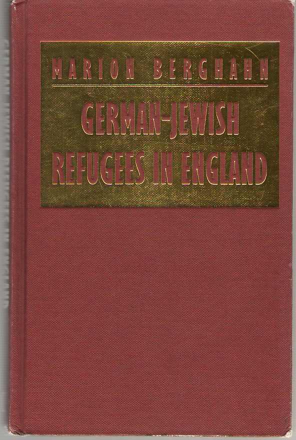 German - Jewish Refugees In England, Berghahn, Marion