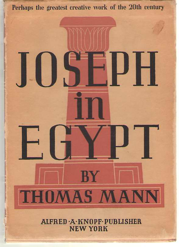 Joseph In Egypt - 2 Volumes In Slipcase, Mann, Thomas