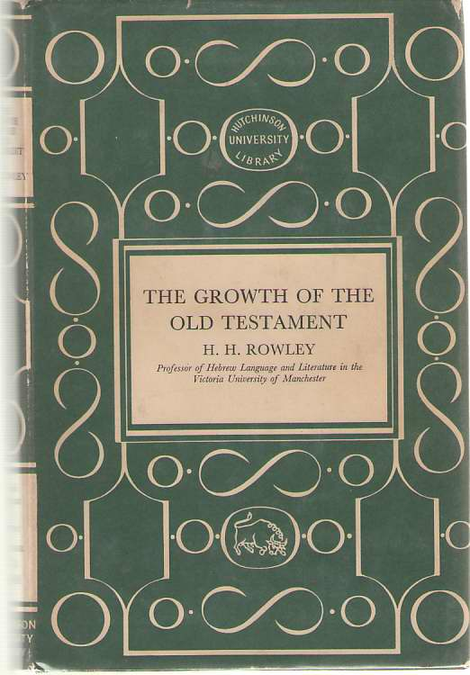 Image for The Growth Of The Old Testament
