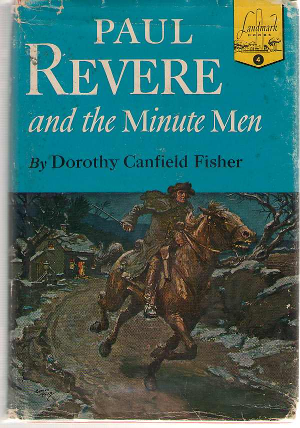 Paul Revere And The Minute Men, Fisher, Dorothy Canfield