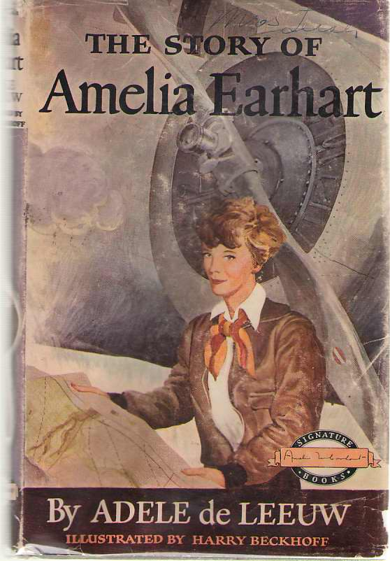 The Story Of Amelia Earhart, De Leeuw, Adele