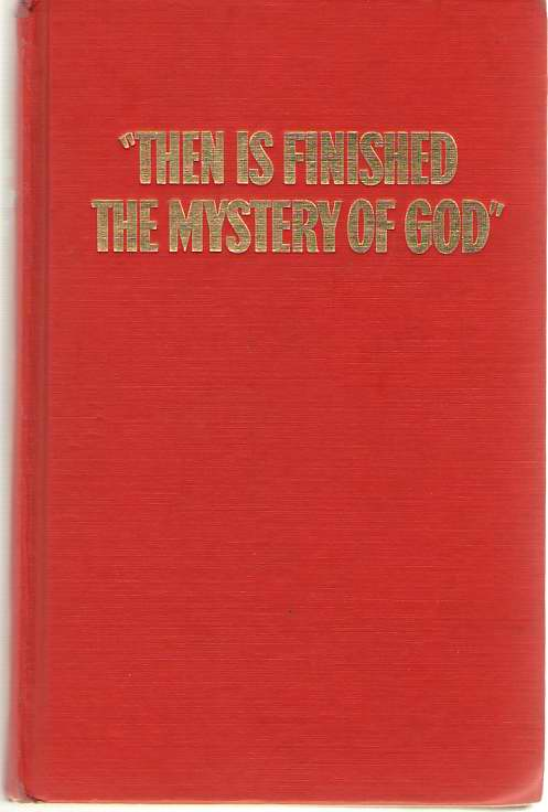 Then Is Finished the Mystery of God, Watchtower Bible and Tract Society
