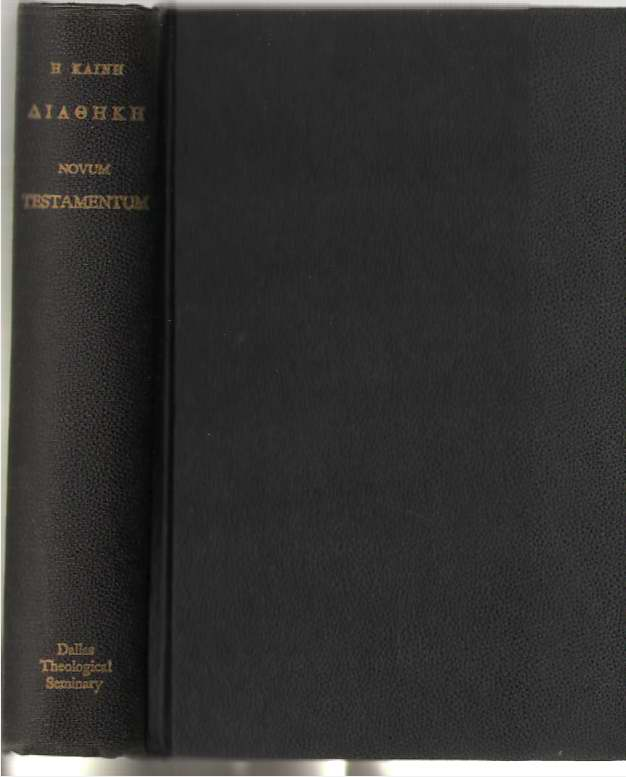Novum Testamentum Secundum Exemplar Oxoniense Anno M. DCCC. XXV. Editum, Kainh, H.