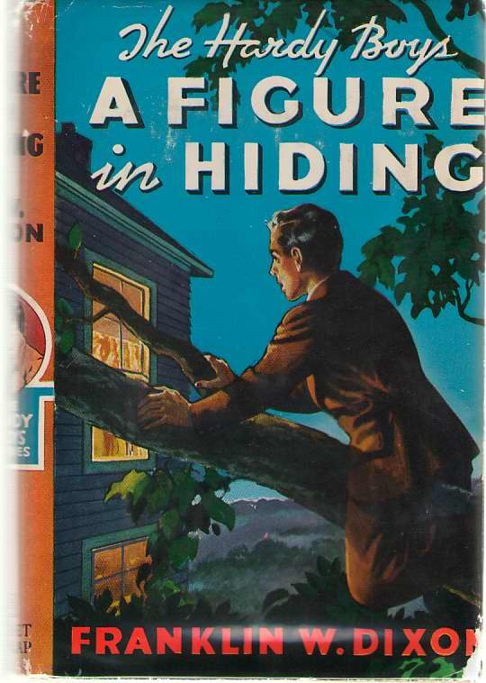 A Figure In Hiding, Dixon, Franklin W. (Mc Farlane, Leslie)