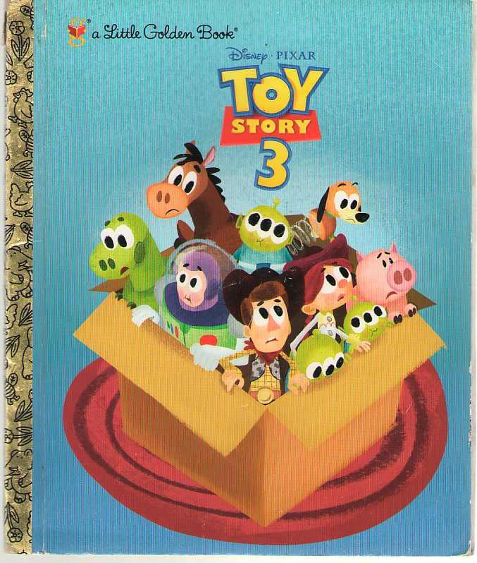 Toy Story 3, Auerbach, Annie; Molina, Adrian (Illustrator)