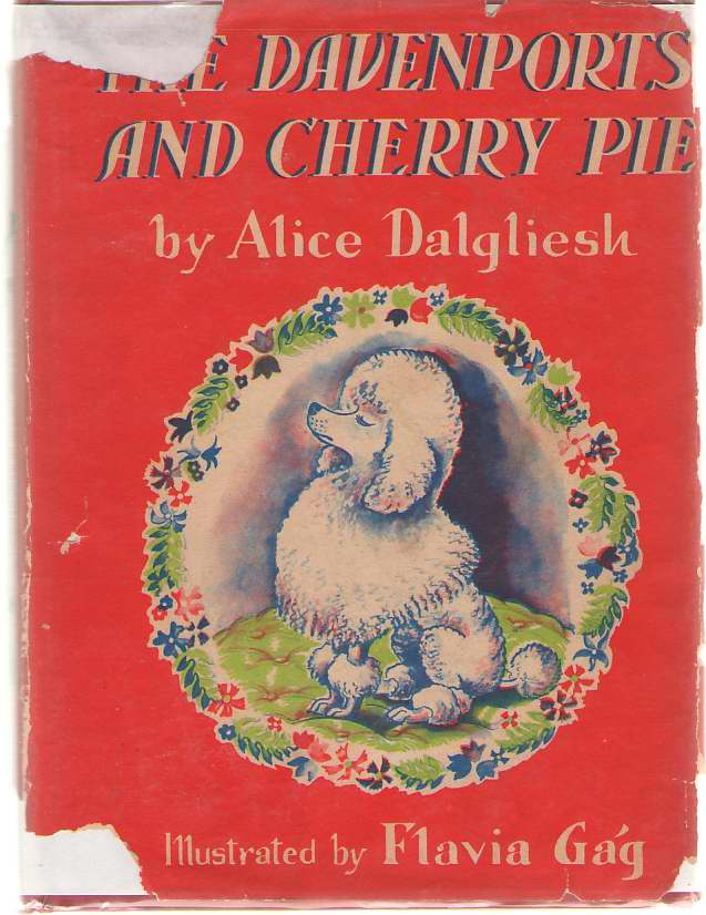 The Davenports And Cherry Pie, Dalgliesh, Alice; Gag, Flavia (Illustrator)