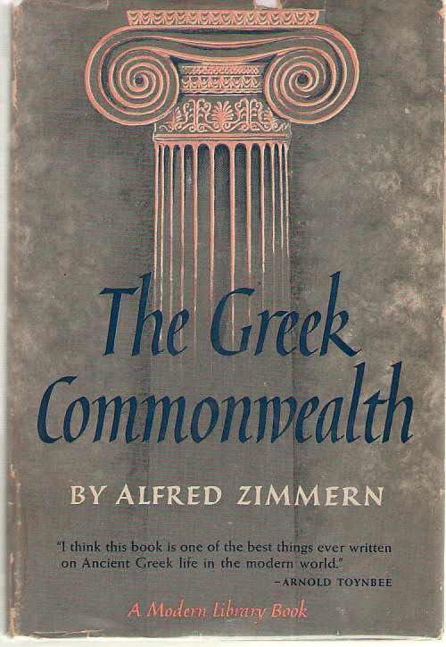 The Greek Commonwealth, Zimmern, Alfred