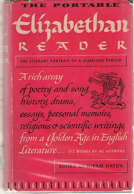 Image for The Portable Elizabethan Reader