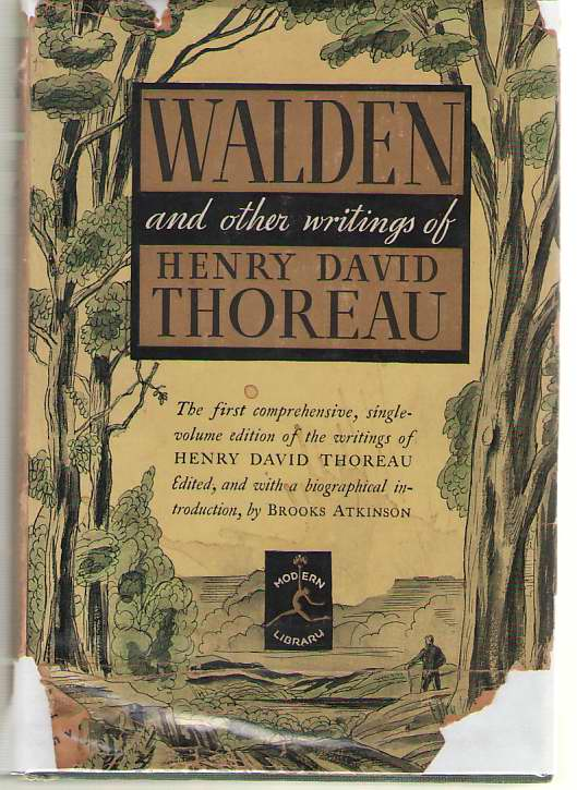 Walden And The Other Writings Of Henry David Thoreau, Thoreau, Henry David; Scudder, Townsend (Forward)