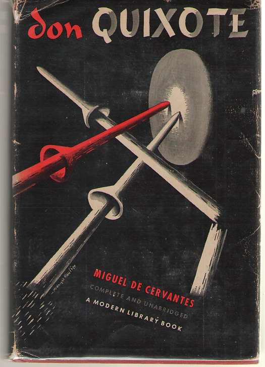 Don Quixote De La Mancha  The Ingenious Gentleman, De Cervantes, Miguel; Brickell, Hershell (Introduction)