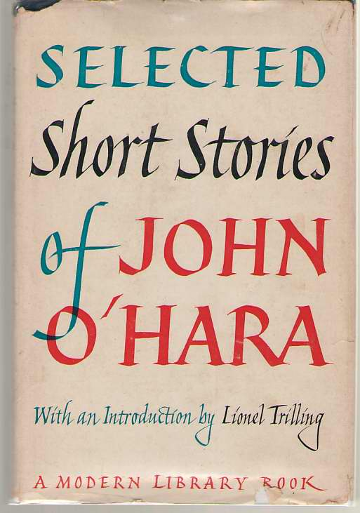 Selected Short Stories of John O'Hara, O'Hara, John