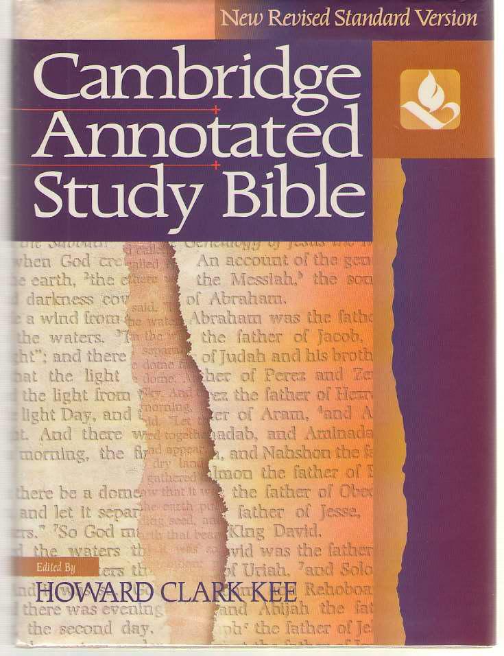 Cambridge Annotated Study Bible, Kee, Howard Clark