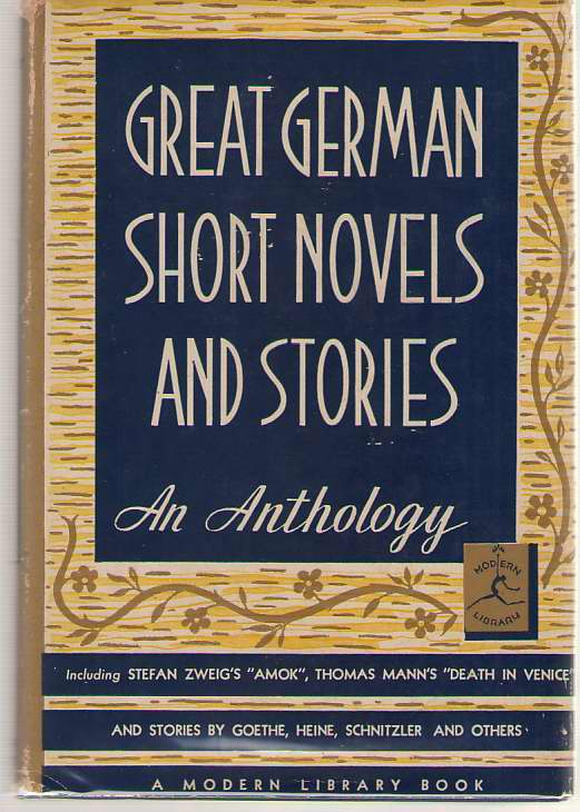 Great German Short Novels And Stories, Cerf, Bennett (editor)