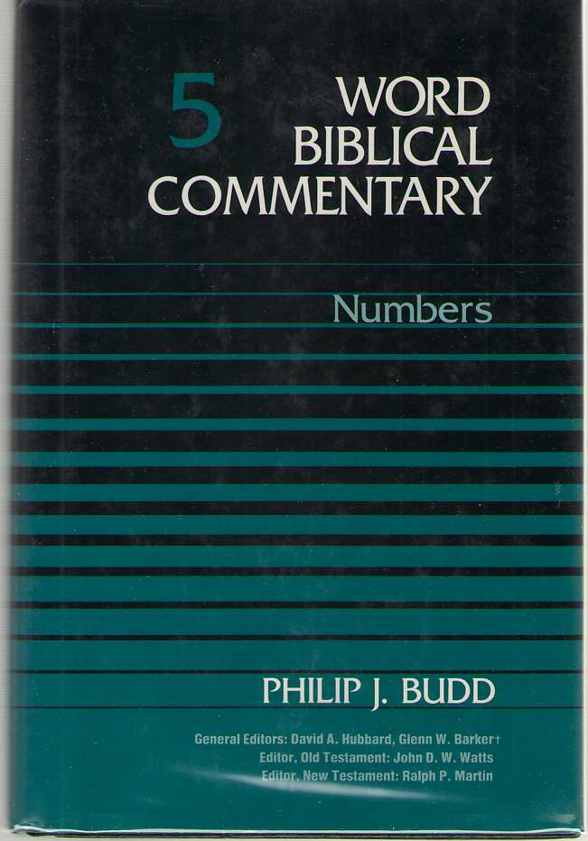 Numbers, Budd, Philip J.